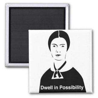 Detención de Emily Dickinson en imán de la posibil