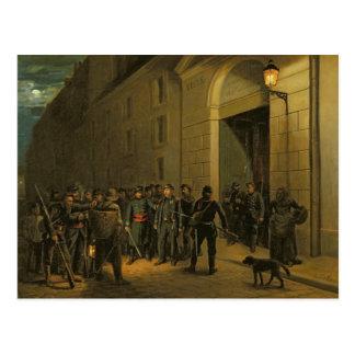 Detención de los generales postal