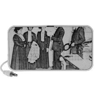 Detención de señora Pankhurst Altavoces