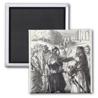 Detención del duque de Gloucester Imán Cuadrado
