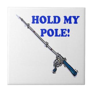Detenga a mi poste azulejo