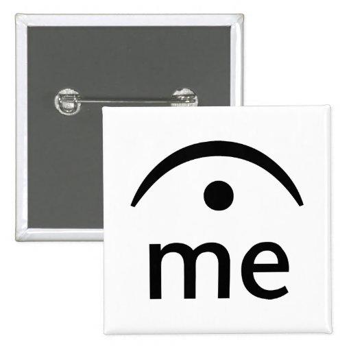 Deténgame Pin Cuadrada 5 Cm