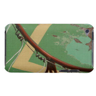 Deteriorating basketball hoop barely there iPod case