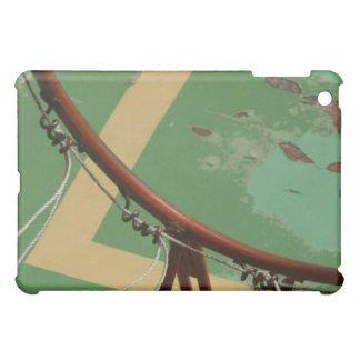 Deteriorating basketball hoop iPad mini case