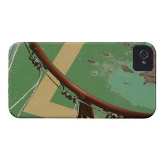 Deteriorating basketball hoop iPhone 4 case