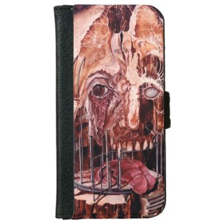 DETERIORATION OF MIND OVER MATTER iPhone WALLET CASE