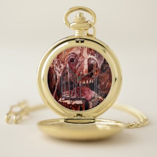 DETERIORATION OF MIND OVER MATTER POCKET WATCH