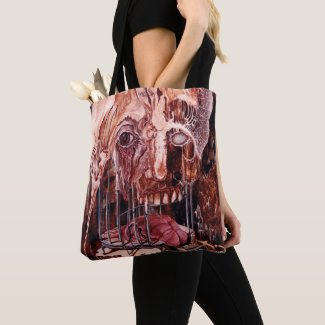 DETERIORATION OF MIND OVER MATTER TOTE BAG