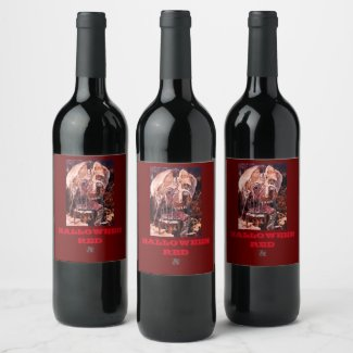 DETERIORATION OF MIND OVER MATTER WINE LABEL