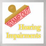 Deterioros de oído poster