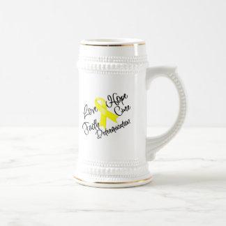 Determinación de la esperanza del amor de la endom jarra de cerveza