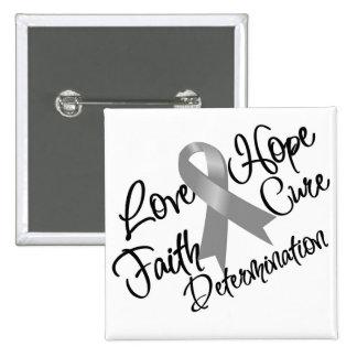 Determinación de la esperanza del amor del asma pin