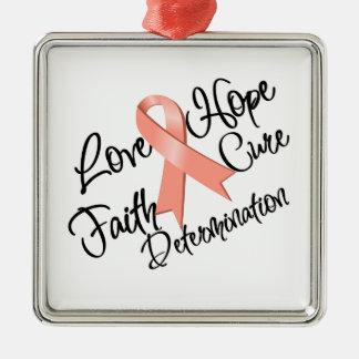 Determinación de la esperanza del amor del cáncer  ornatos