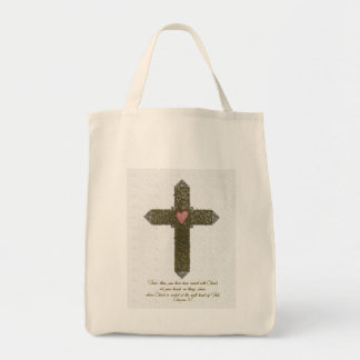 Determinación de sus corazones en Cristo Bolsa De Mano