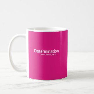 Determinación - pensamiento Shapers™ Taza De Café