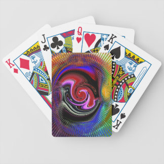Determination Abstract Color Playing Cards