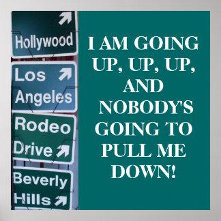 DETERMINATION, CALIFORNIA STYLE poster