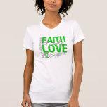 Determination Faith Collage Spinal Cord Injury Shirt