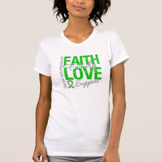 Determination Faith Collage Spinal Cord Injury Shirt
