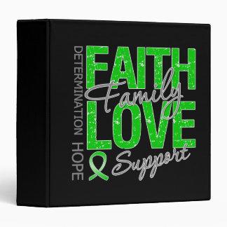 Determination Faith Family Traumatic Brain Injury Vinyl Binders