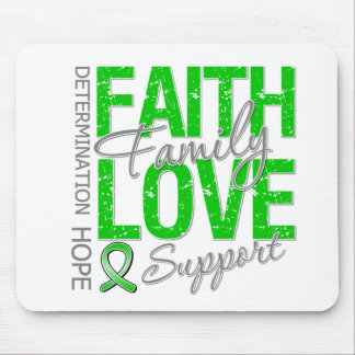 Determination Faith Family Traumatic Brain Injury Mouse Pad