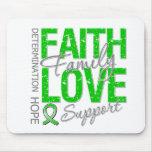 Determination Faith Family Traumatic Brain Injury Mousepads