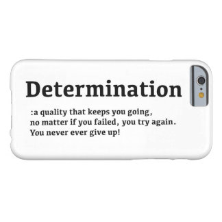 Determination iPhone 6/6s Case Barely There iPhone 6 Case