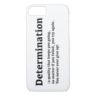 Determination iPhone 7 Case