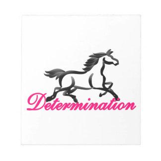 Determination Notepad