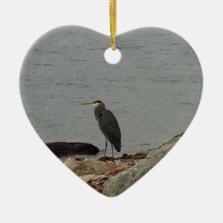 Determination of the Egrets Ceramic Ornament