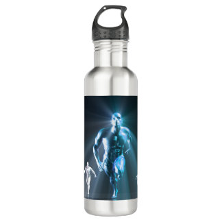 Determination or Determined Leader Leading Stainless Steel Water Bottle