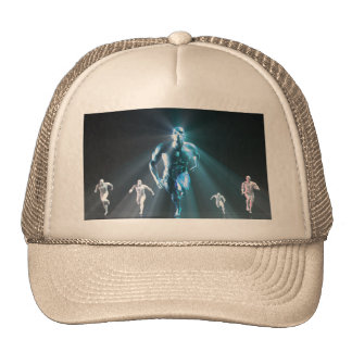 Determination or Determined Leader Leading Trucker Hat