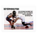 Determination Postcard