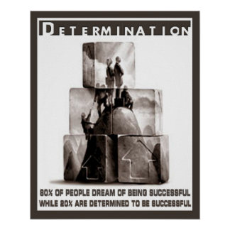 Determination Posters