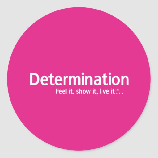 Determination - Thought Shapers™ Stickers