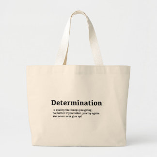 Determination Tote