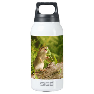 Determined Baby Chipmunk Insulated Water Bottle