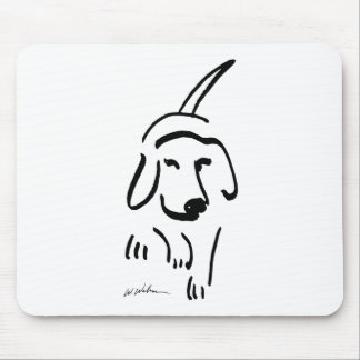 Determined Beagle Mouse Pad