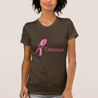 Determined Breast Cancer Awareness T Shirt