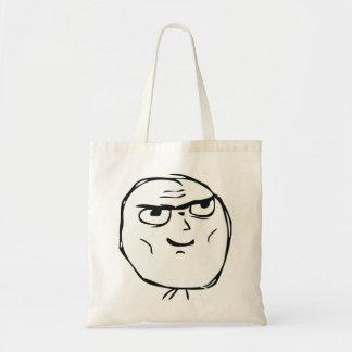 Determined Guy Meme - Bag