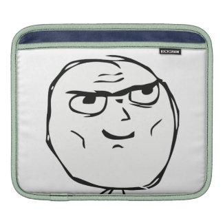 Determined Guy Meme - iPad 1/2/3 Compatible Sleeve iPad Sleeves