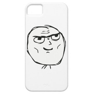 Determined Guy Meme - iPhone 5 Case