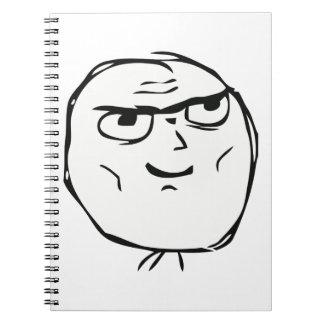 Determined Guy Meme - Notebook