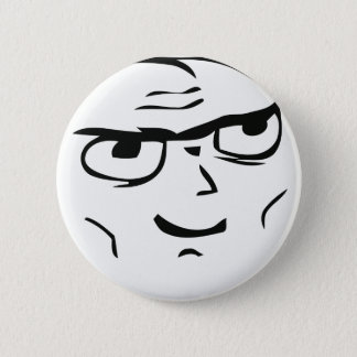 Determined Guy Meme - Pinback Button