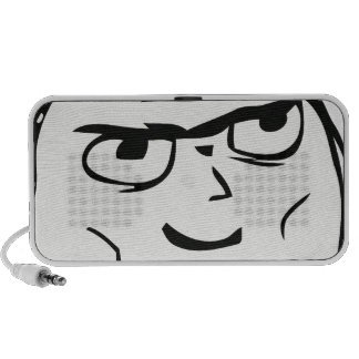 Determined Guy Meme - Portable Speaker
