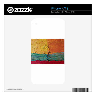 Determined iPhone 4 Skins