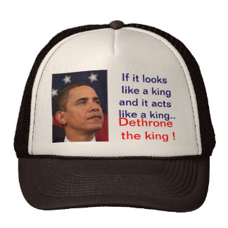 Dethrone the King Trucker Hat