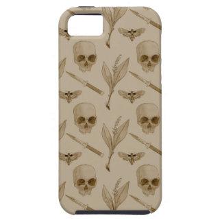 Deths Head pattern iPhone SE/5/5s Case
