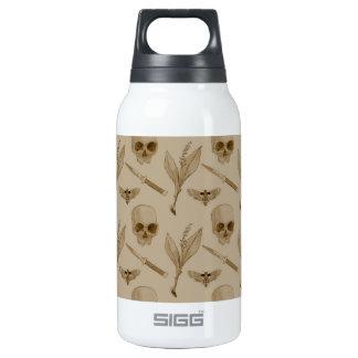 Deths Head pattern Thermos Water Bottle