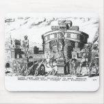 Detienen a papa Clemente VII sitiado por Charles V Alfombrillas De Ratón